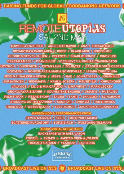 Remote Utopias w/ Yves Tumor, JessB, Tame Impala, Weyes Blood + More