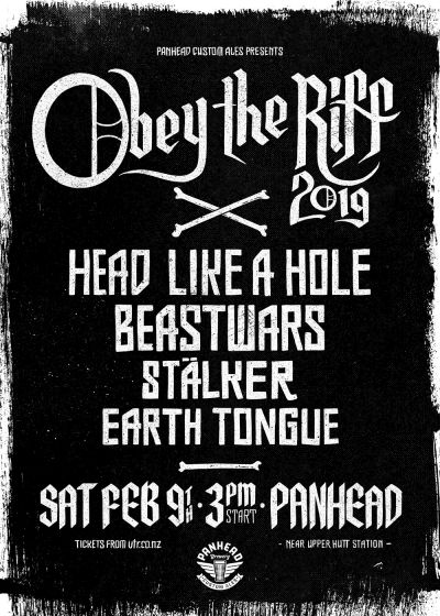 Obey the Riff 2019