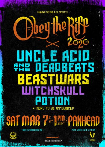 Obey the Riff 2020