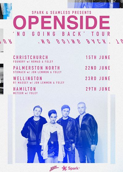 Openside - No Going Back Tour