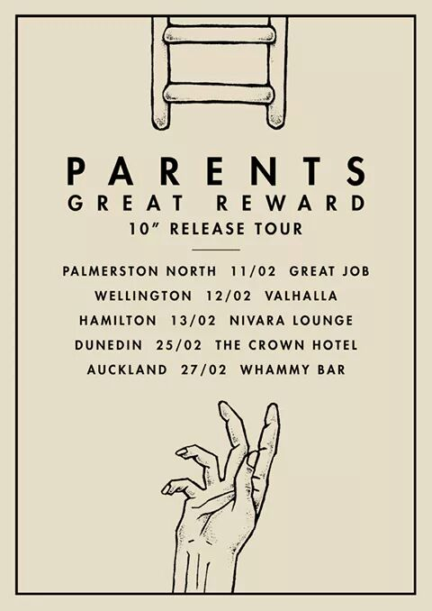 Parents 'Great Reward' Release Tour w/ Bridge City Bitches + More (AA)