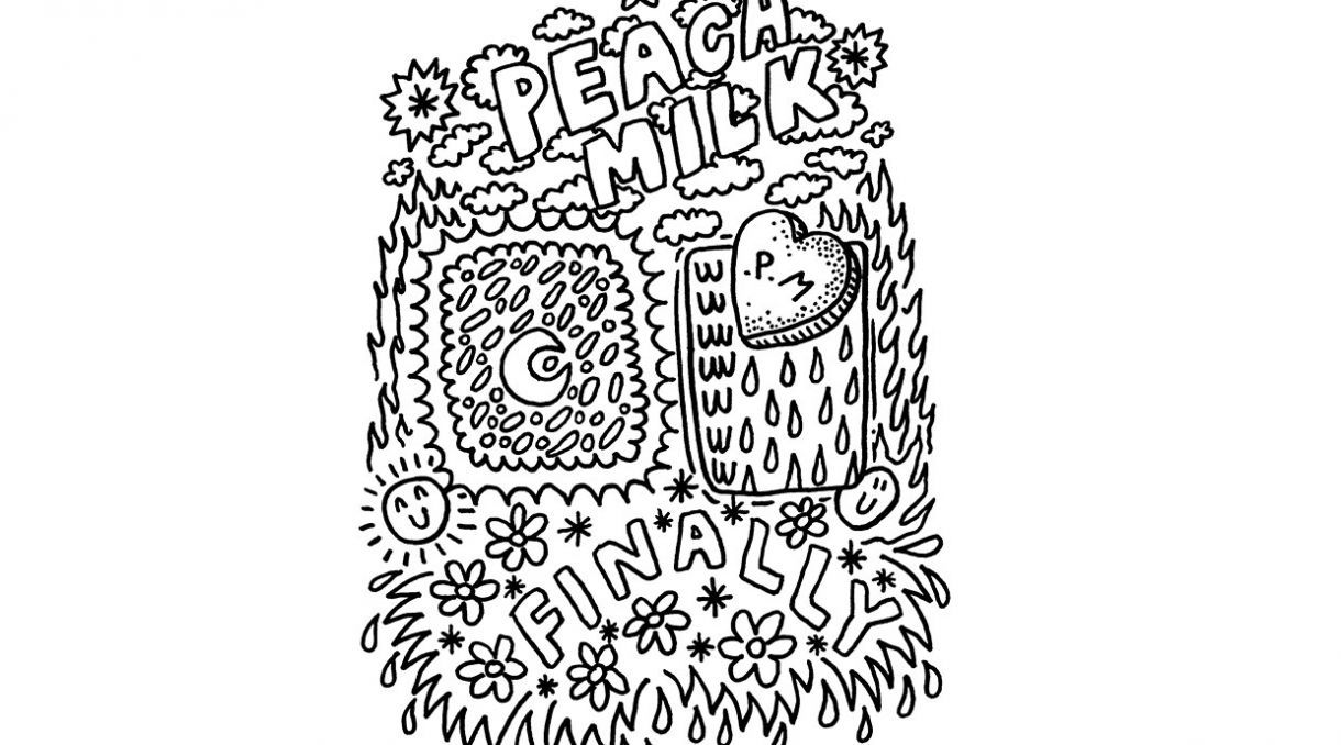 Stream Peach Milk's Debut EP 'Finally' (UTR Preview)