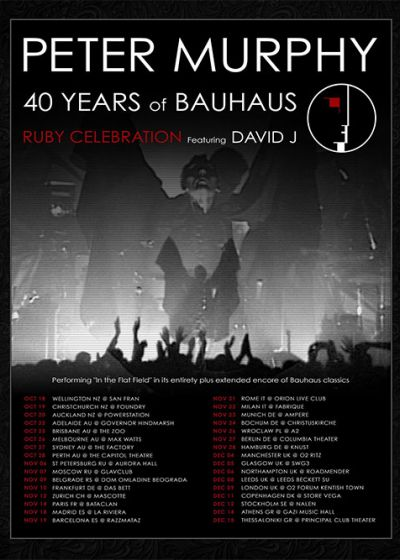 Peter Murphy - 40 Years of Bauhaus