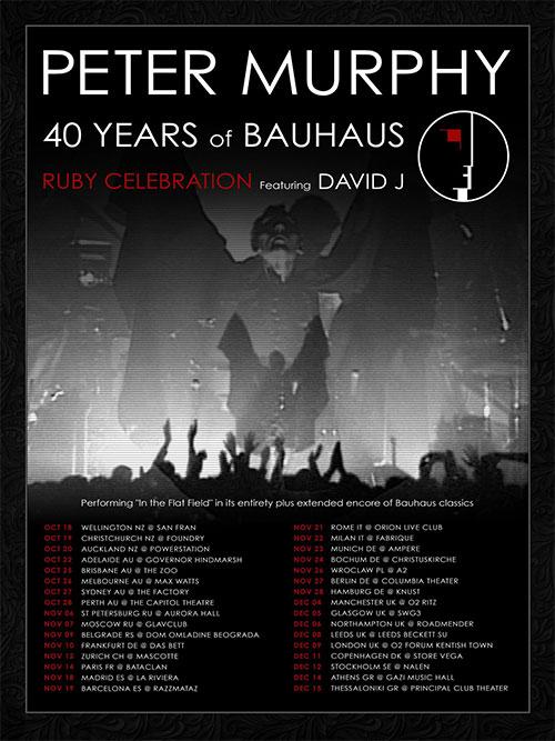 Peter Murphy - 40 Years of Bauhaus