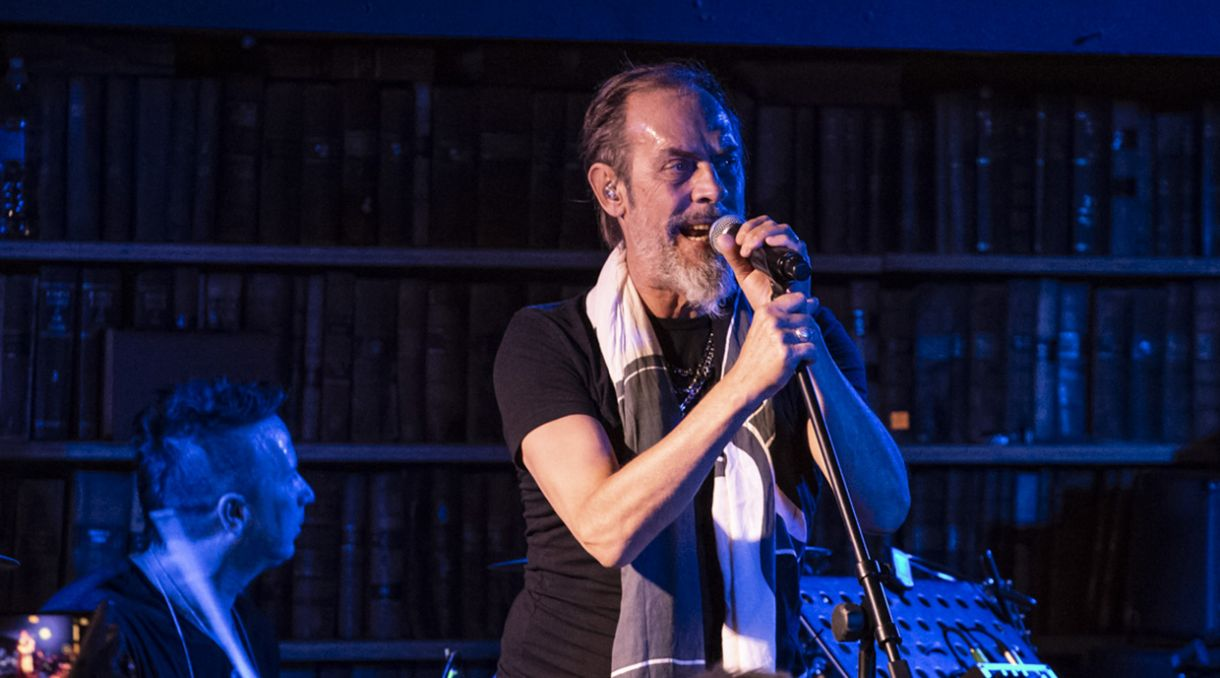 Live Photos: Peter Murphy '40 Years Of Bauhaus' - Meow, Wellington
