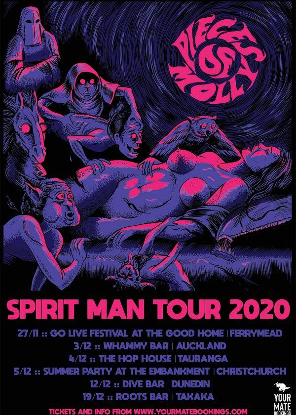 Pieces of Molly - Spirit Man Tour