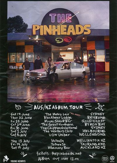 The Pinheads New Zealand Tour