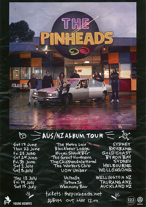 The Pinheads New Zealand Tour - Cancelled