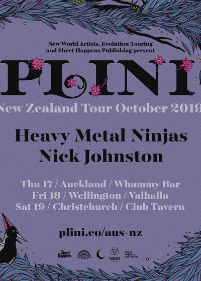 Plini - New Zealand Tour