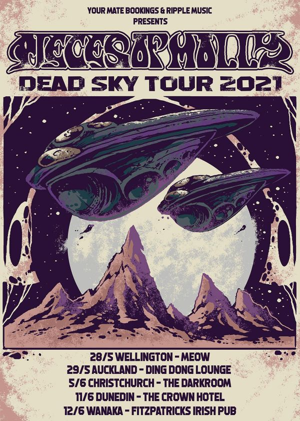 Pieces of Molly Dead Sky Tour 2021
