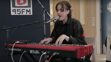 Caught Live: Princess Chelsea Plays Two Songs At 95bFM's Drive Island