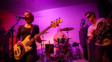Live Photos: Psychic Maps, The Fuzzies, Na Noise, P'45s – The Wine Cellar, Auckland