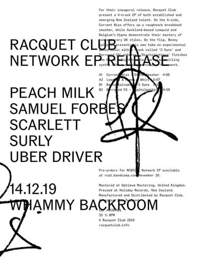 Racquet Club Network Ep Release