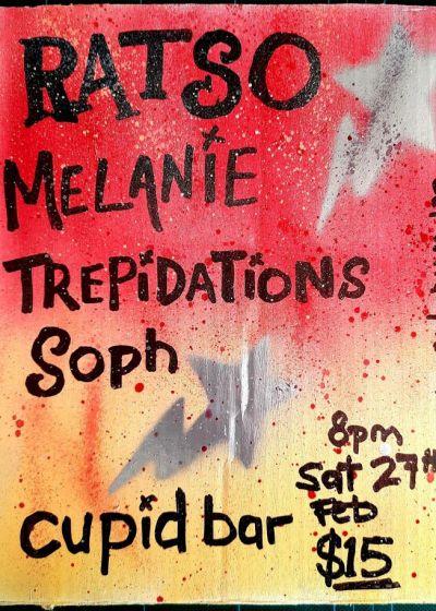 Ratso, Trepidations, Melanie, Soph