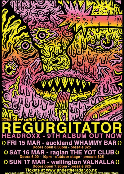 Regurgitator + guests