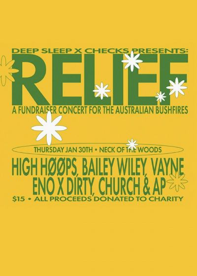 Relief: Bailey Wiley, ENO x DIRTY, Church and AP, Vayne + More