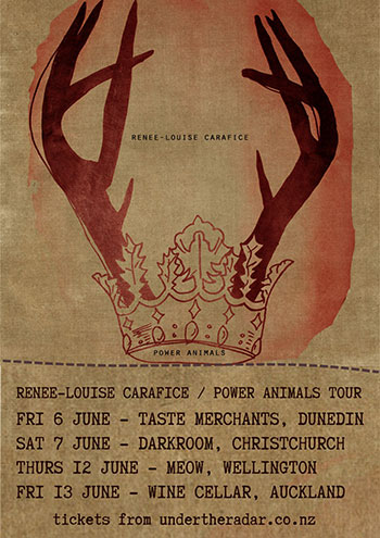 Renee-Louise Carafice - Power Animals Tour