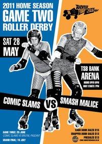 Richter City Roller Derby Presents: Smash Malice vs Comic Slams