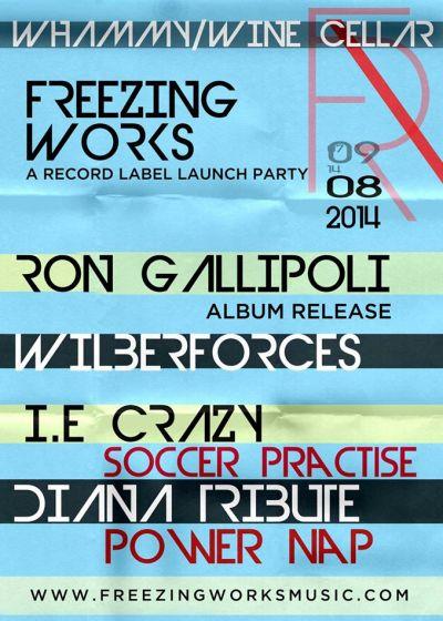 Ron Gallipoli Album Release Party