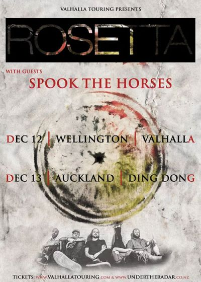 Rosetta - Utopioid New Zealand Tour