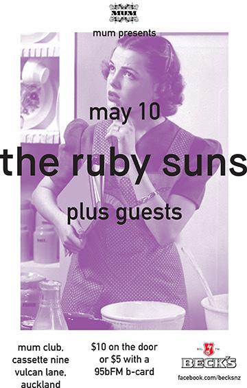 MUM Presents: The Ruby Suns + Suren Unka