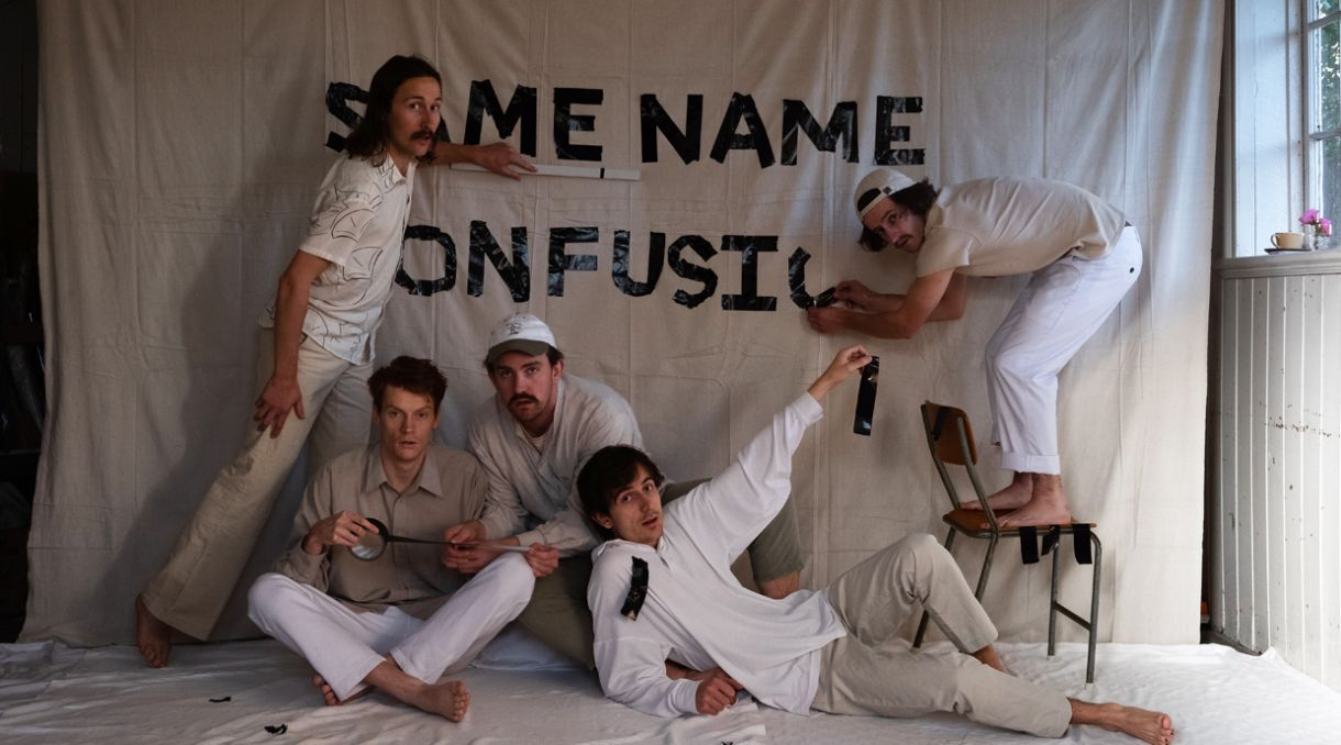Same Name Confusion Announce NZ Tour