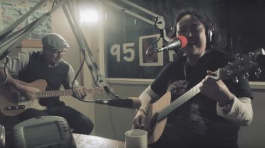 Caught Live: Sandy Mill Plays 'Gift Box' + 'Charade' on 95bFM