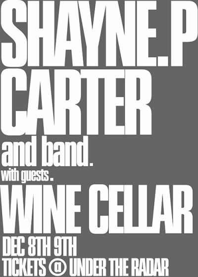 Shayne P Carter and Band