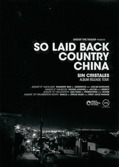 So Laid Back Country China - Sin Cristales Tour