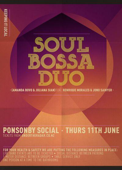 Soul Bossa Duo w/ Henrique Morales