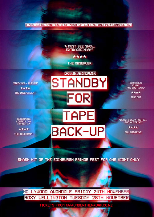 Ross Sutherland's - Standby for The Tape Back-up