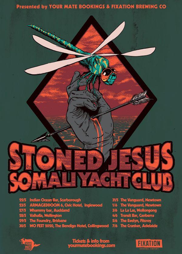 Stoned Jesus and Somali Yacht Club