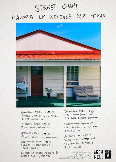 Street Chant - Hauora Album Release
