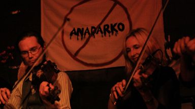 Live Photos: Strings Against Oil - Wine Cellar, Auckland