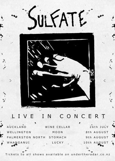 Sulfate - North Island Tour