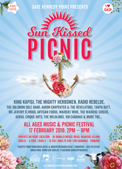 The Sun Kissed Picnic - Save Kennedy Point Fundraiser