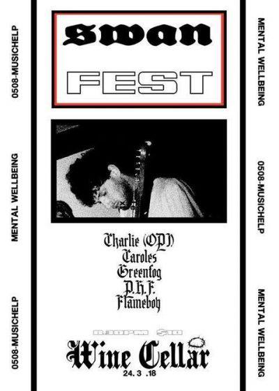 Swan Fest - PHF, Caroles, Greenfog + More