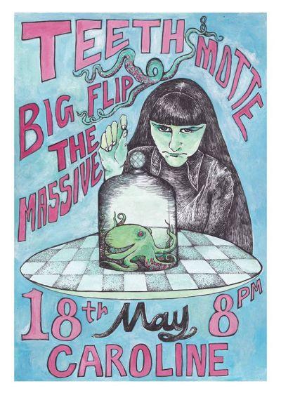Teeth, Motte, Big Flip The Massive