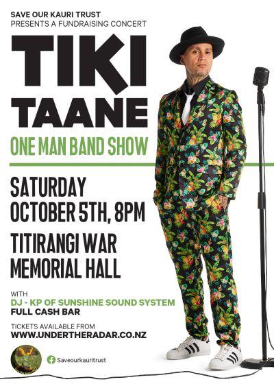Tiki Taane One Man Band Show