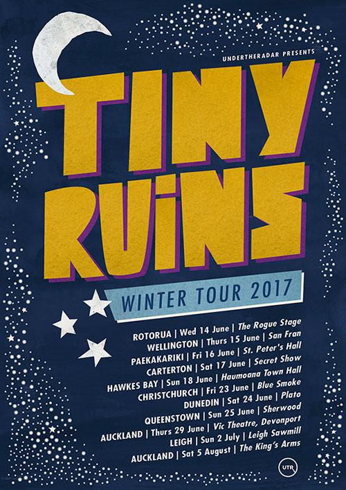 Tiny Ruins - Winter Tour 2017