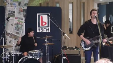 Caught Live: TOOMS Play Two Songs At 95bFM's Drive Island