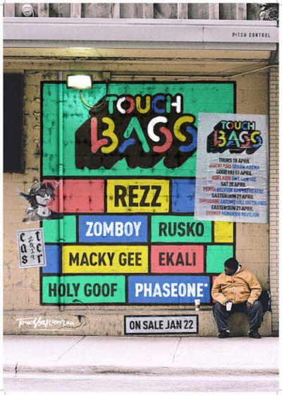 Touch Bass - REZZ, ZOMBOY, RUSKO, MACKY GEE