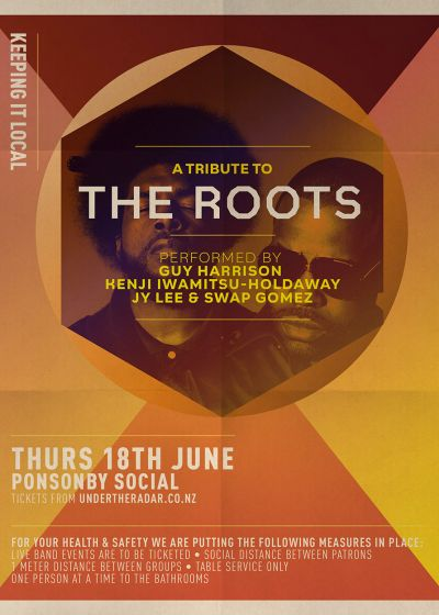 Tribute To The Roots With Swap Gomez, Guy Harrison, Jy and Kenji