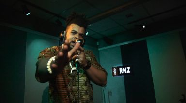 Caught Live: Unchained XL Performs 'Weight On My Bars Pt. 3' For RNZ