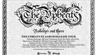 The Upbeats on tour
