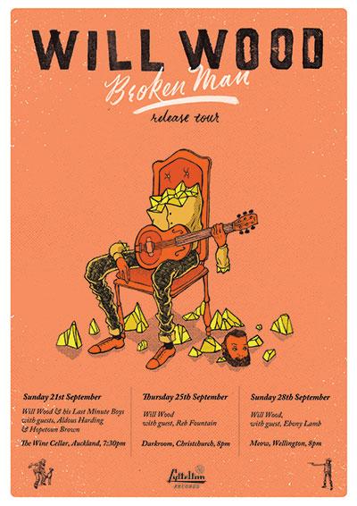 Will Wood - Broken Man Tour