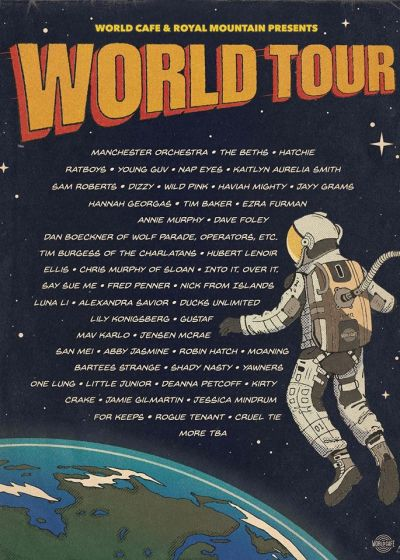World Cafe & Royal Mountain Records Presents: World Tour w/ The Beths + More