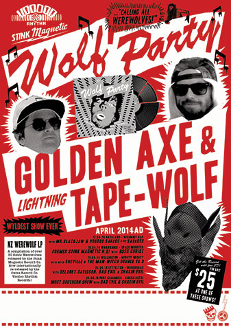 Wolf Party LP Release