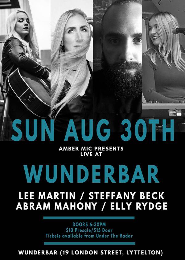 Lee Martin W/ Steffany Beck,  Abram Mahoney & Elly Rydge