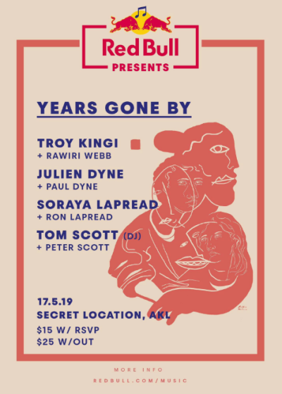 Years Gone By - Troy Kingi, Julien Dyne, Soraya Lapread, Tom Scott